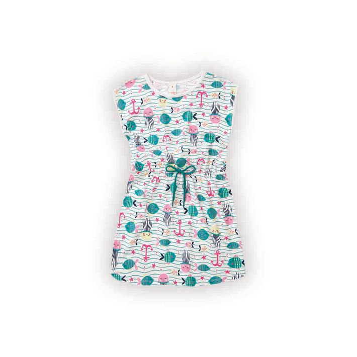 Vestido-Infantil-Menina-Com-Estampa-De-Peixinhos---Branco