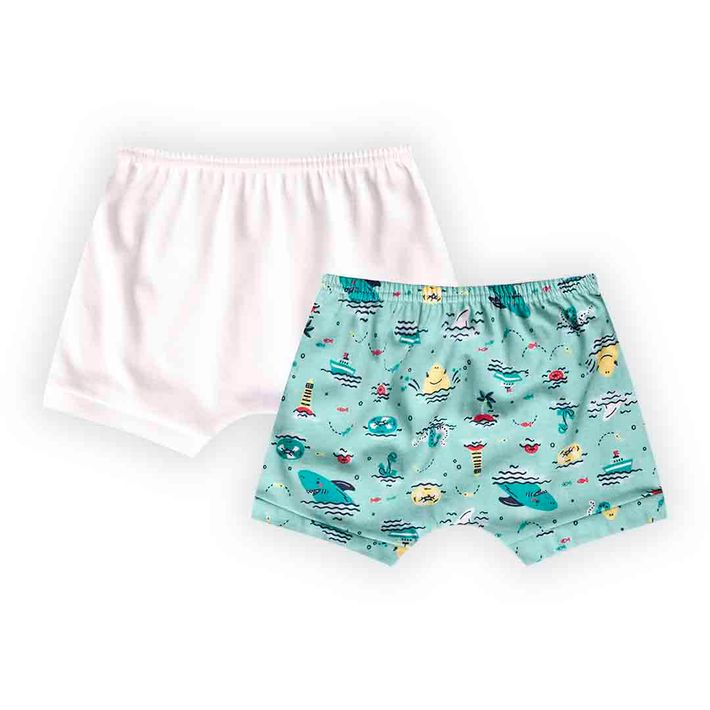 Kit-Short-2-Pecas-Infantil-Menino-Com-Estampa-De-Marinheiro---Azul