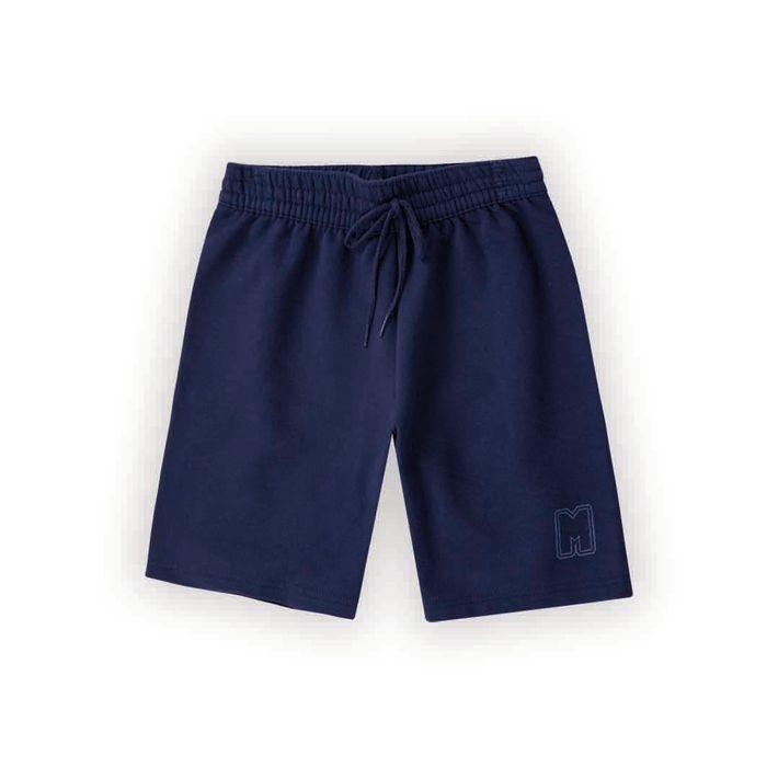 Bermuda-Infantil-Menino-De-Moletom---Azul