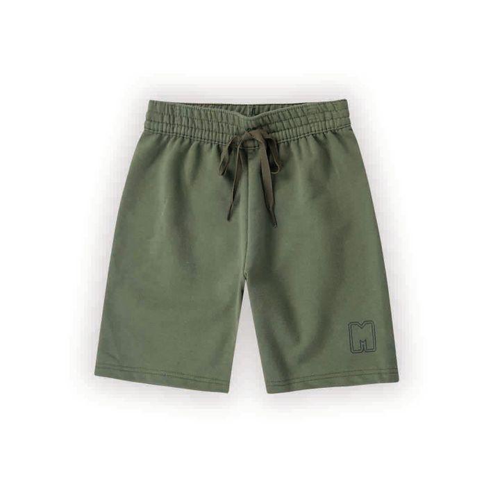Bermuda-Infantil-Menino-De-Moletom---Verde
