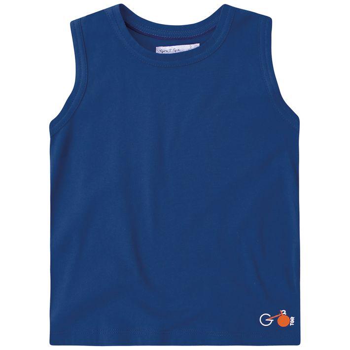 Camiseta-Regata-Bebe-Menino--Basica---Azul
