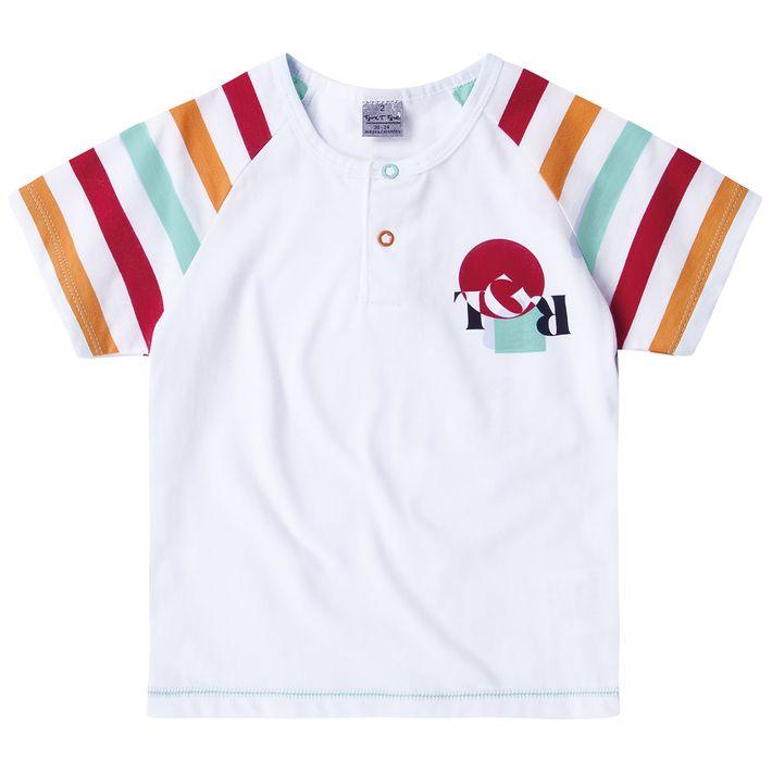 Camiseta-Bebe-Menino--Modelo-Raglan---Branca