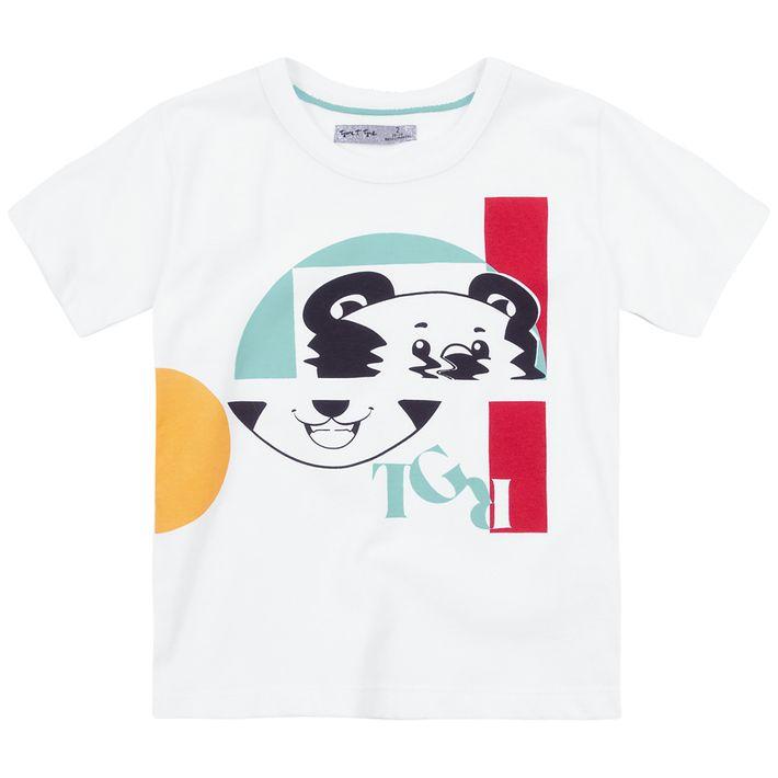 Camiseta-Bebe-Menino--Manga-Curta---Branca