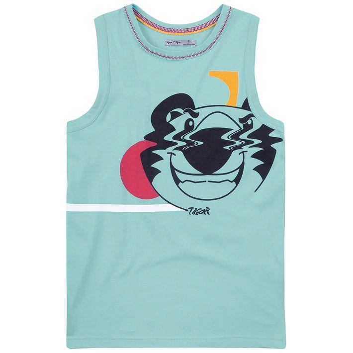 Camiseta-Regata-Infantil-Menino-Com-Estampa-Do-Personagem---Azul