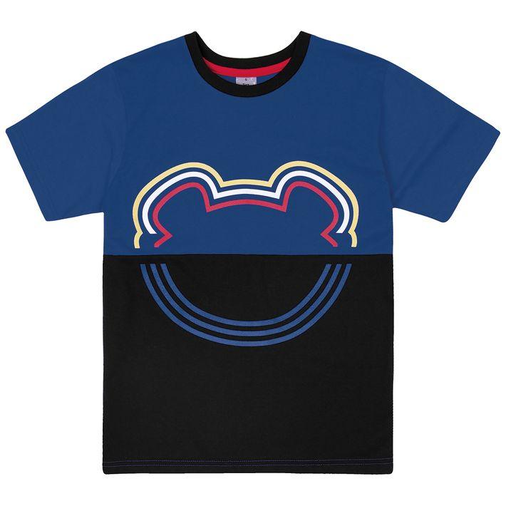 Camiseta-Infantil-Menino-Manga-Curta---Azul