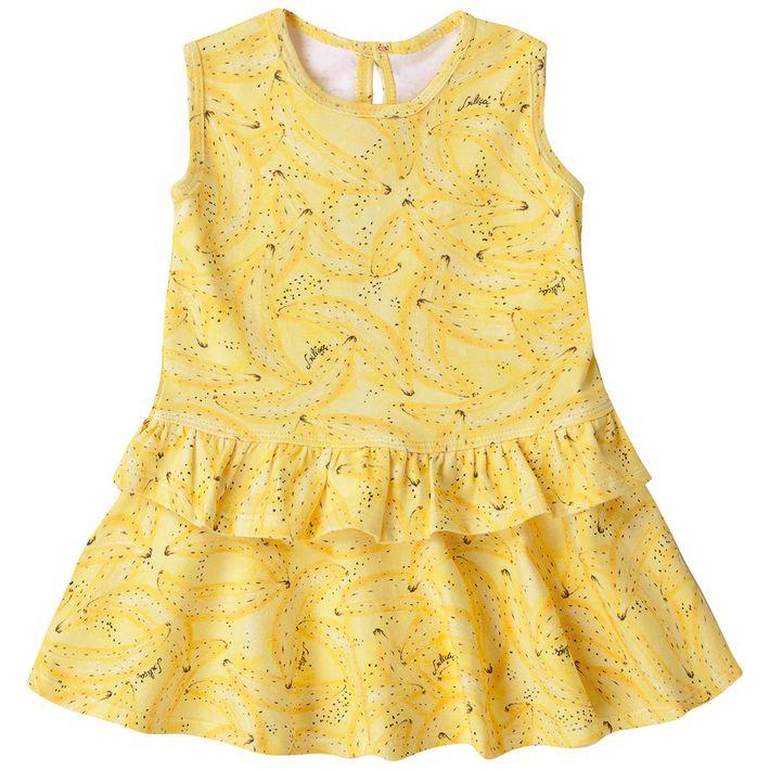Vestido-Bebe-Menina-Com-Protecao-Antiviral---Amarelo