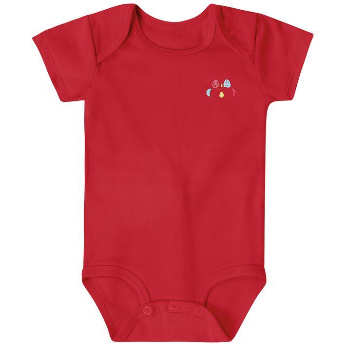 Body-Bebe-Menina-Com-Protecao-Antiviral---Vermelho