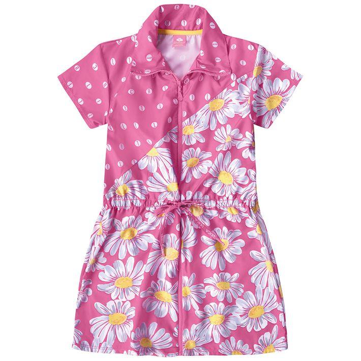 Vestido-Infantil-Menina-Com-Ziper---Rosa