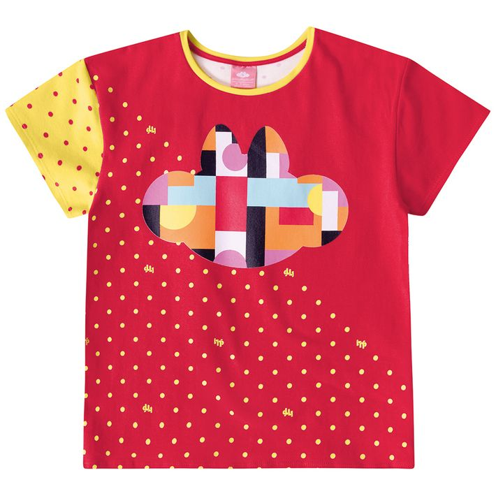 Blusa-Infantil-Menina-Com-Estampa-Da-Personagem---Vermelha