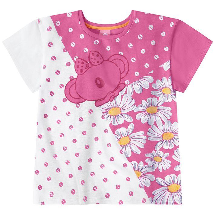 Blusa-Infantil-Menina-Com-Estampa-De-Bolinhas---Rosa