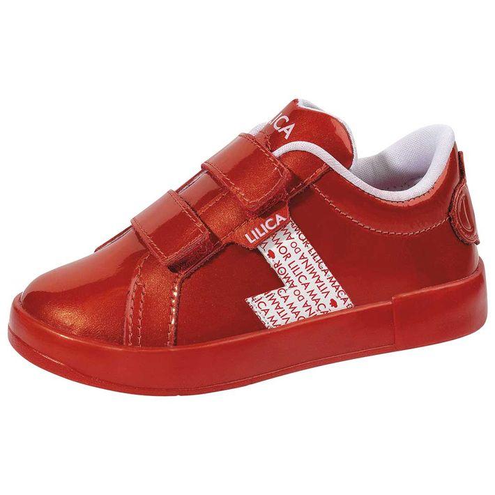 Tenis-Cs-Love-Yourself-Bebe-Menina-Com-Duas-Tiras-Em-Velcro---Vermelho
