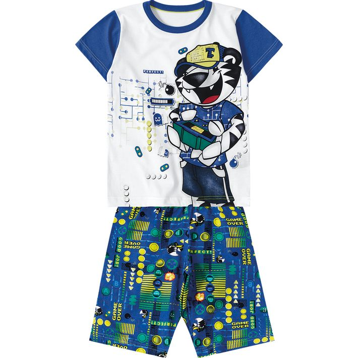 Pijama--Menino---Branco