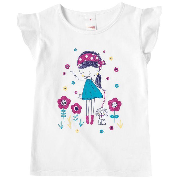 Blusa-Infantil-Menina-Com-Estampa-Floral---Branca