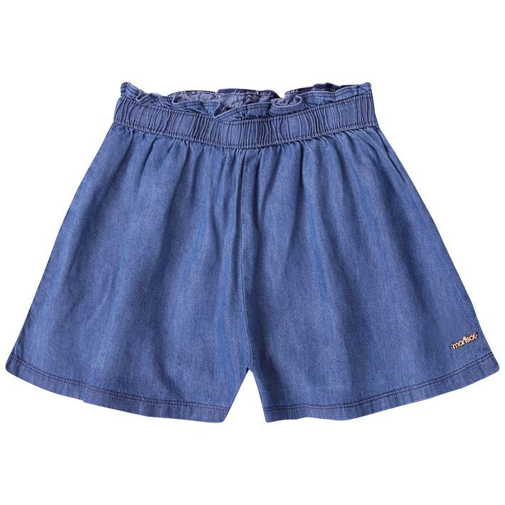Short-Infantil-Menina-Jeans---Azul