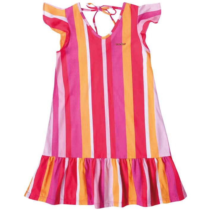 Vestido-Infantil-Menina-Estampado---Rosa