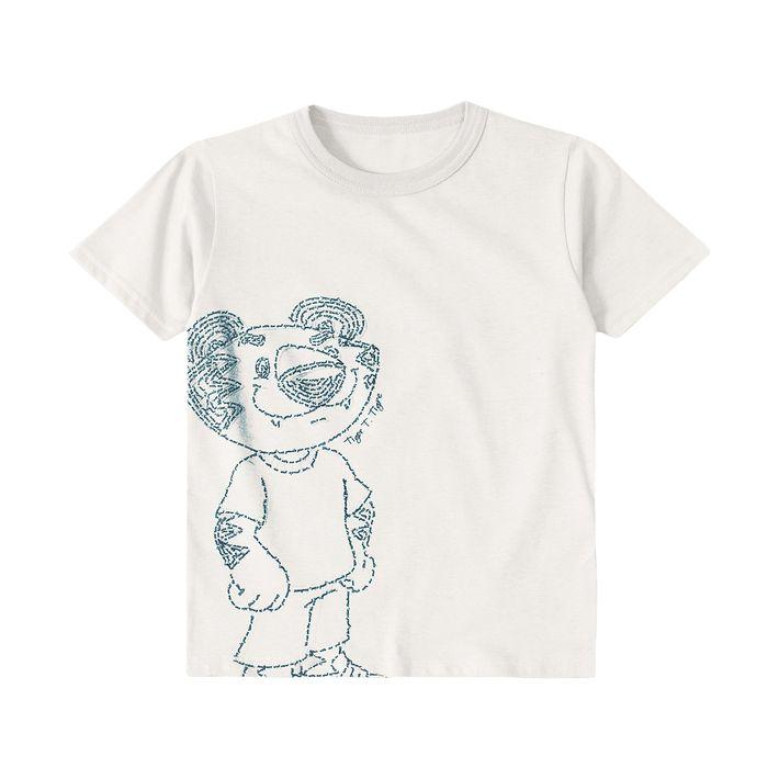 Camiseta--Menino---Bege