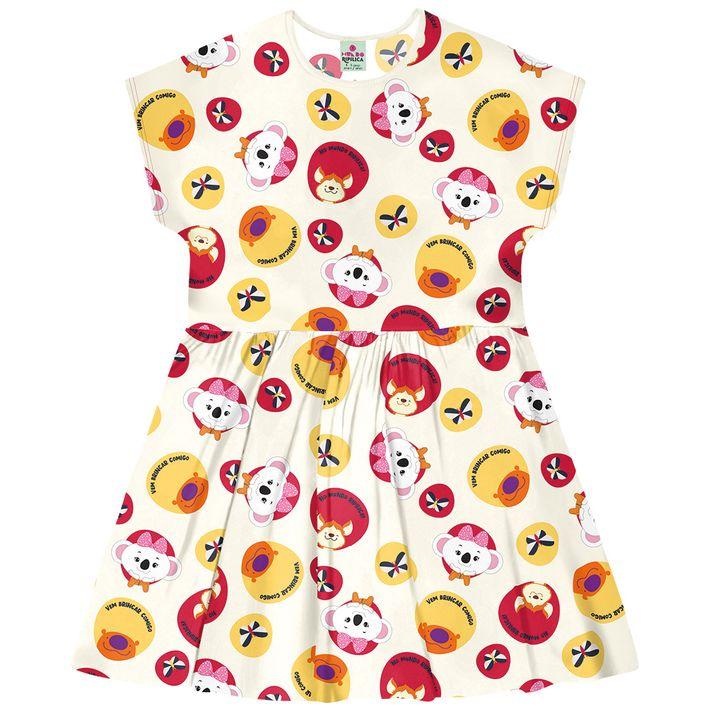 Vestido-Mundo-Ripilica-Infantil-Menina---Bege