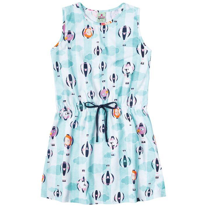 Vestido-Mundo-Ripilica-Infantil-Menina---Azul