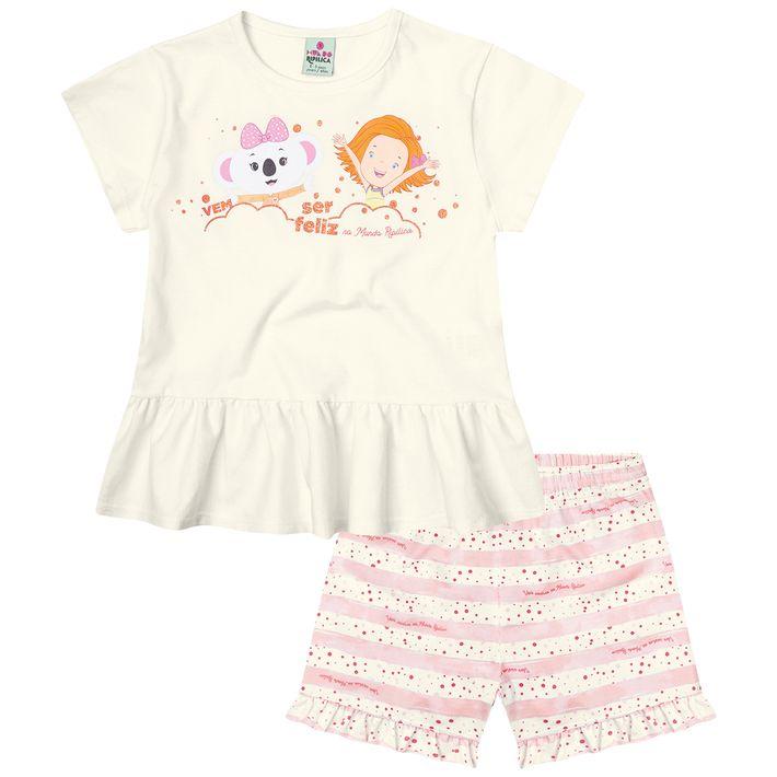 Pijama-Mundo-Ripilica-Infantil-Menina---Bege