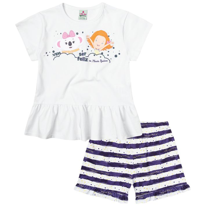 Pijama-Mundo-Ripilica-Infantil-Menina---Branco