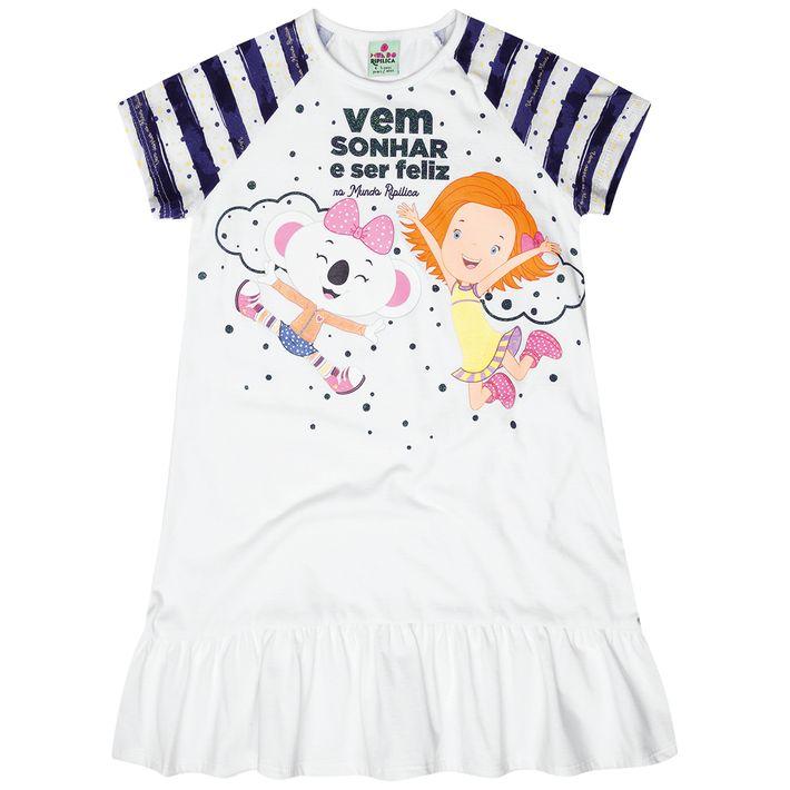 Camisola-Mundo-Ripilica-Infantil-Menina---Branco