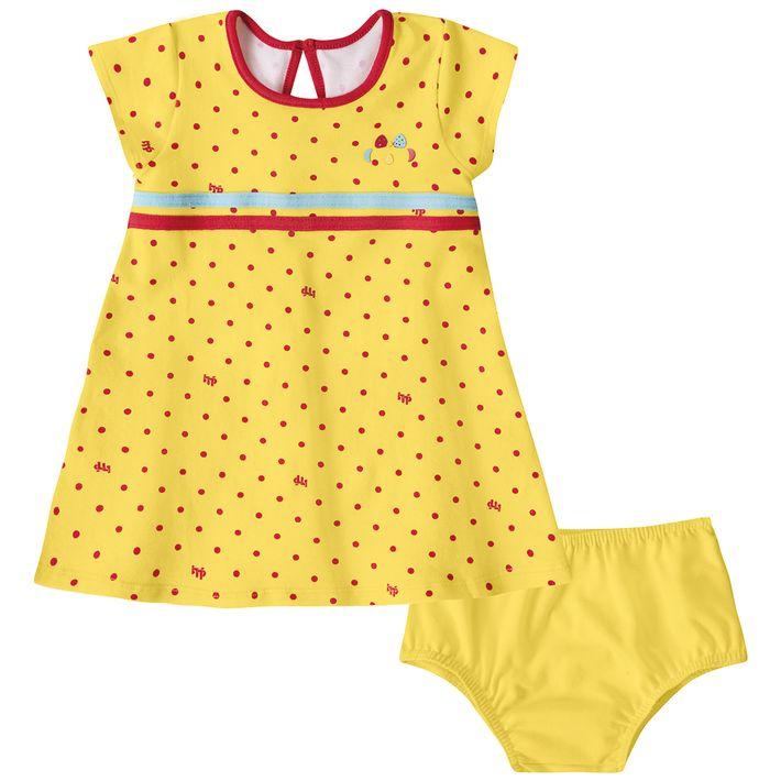 vestido-com-calcinha-bebe-menina-com-protecao-antiviral-amarelo