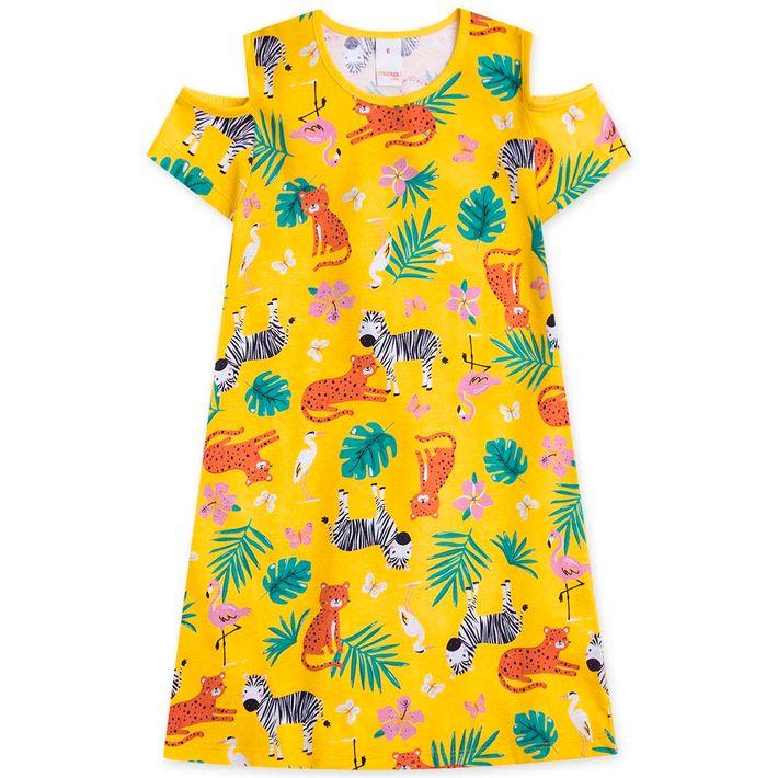 Vestido-Infantil-Menina---Amarelo