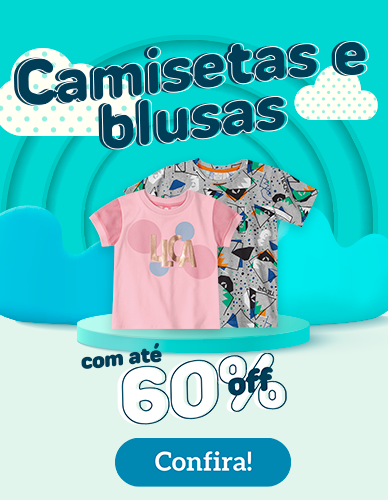 Dia das Crianças Camisetas e Blusas