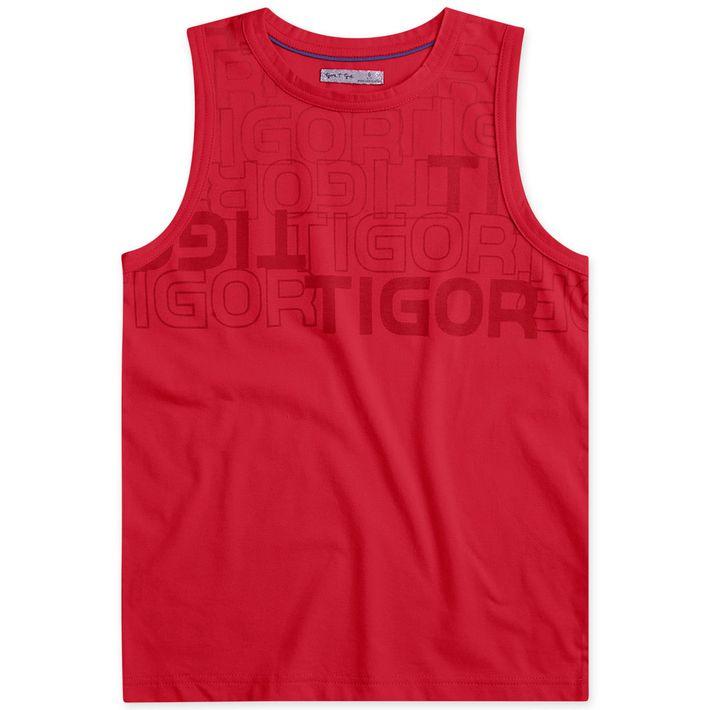 Camiseta-Regata-Infantil-Menino---Vermelho