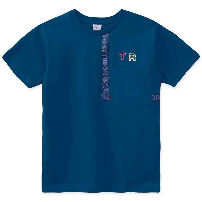 Camiseta-Infantil-Menino---Azul