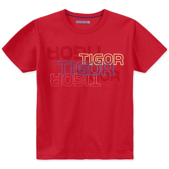 Camiseta-Infantil-Menino---Vermelho