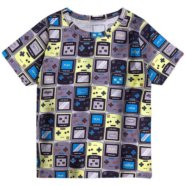 Camiseta-Infantil-Menino---Cinza