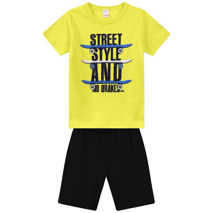 Conjunto-Infantil-Menino---Amarelo