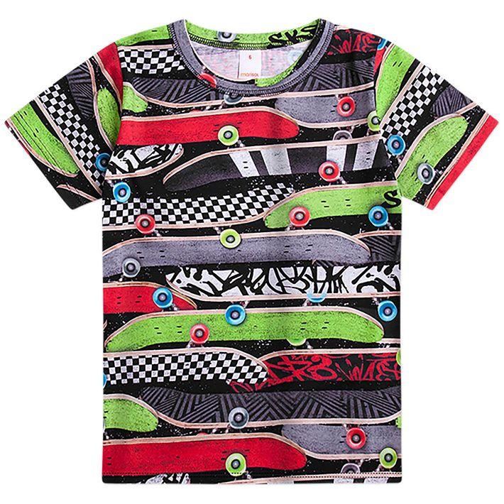 Camiseta-Infantil-Menino---Preto