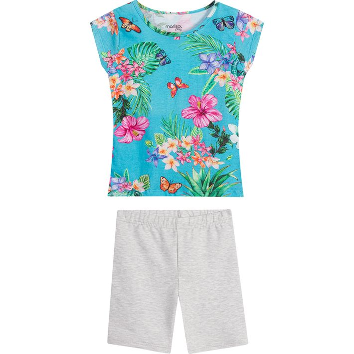 Conjunto-Infantil-Menina-Com-Estampa-Floral---Azul---1P